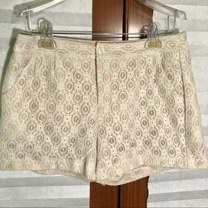 Lauren Conrad Lace Shorts